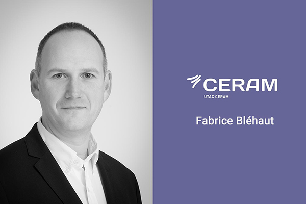 APPOINTMENT OF FABRICE BLEHAUT AS CERAM DIRECTOR
