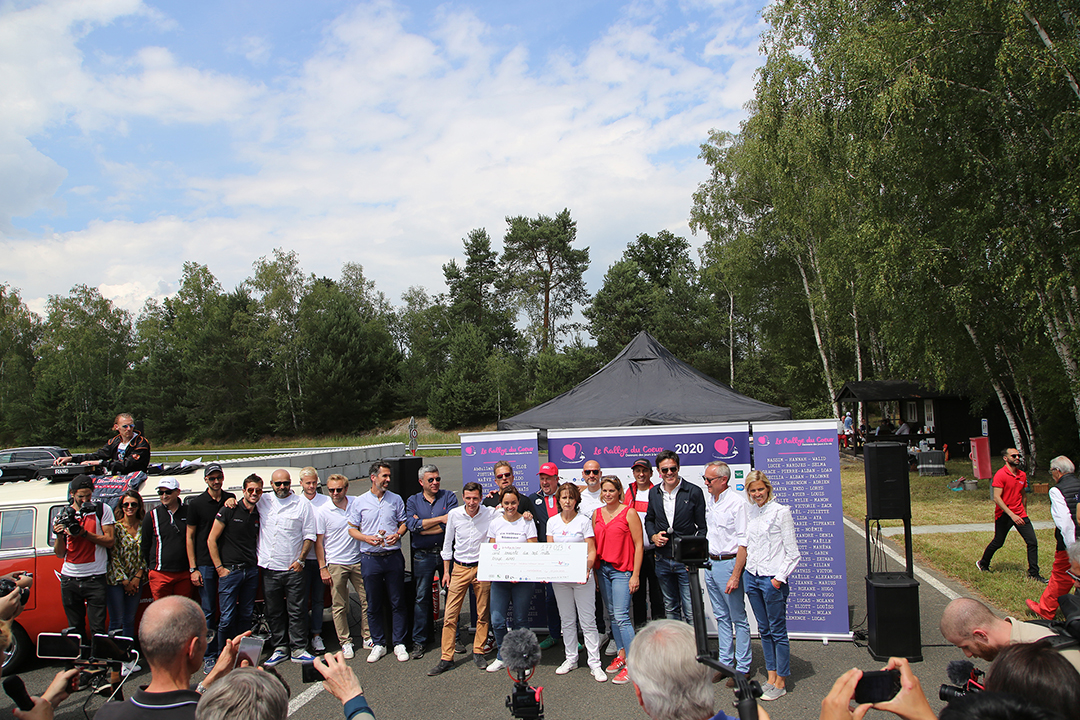 « RALLY OF THE HEART » ON THE MORTEFONTAINE CIRCUIT