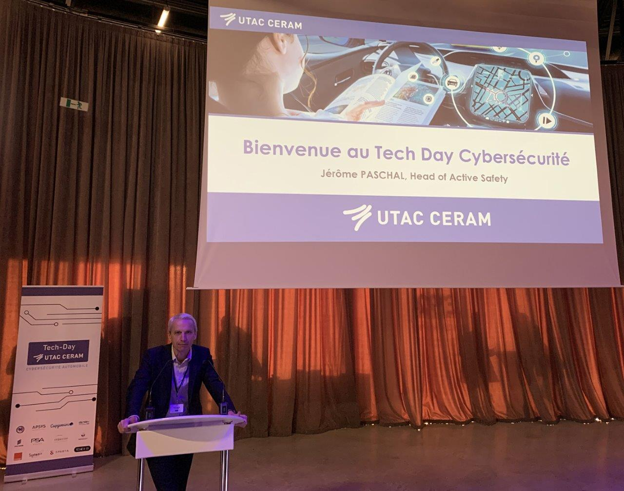 FIRST TECH-DAY AUTOMOTIVE CYBERSECURITY UTAC CERAM